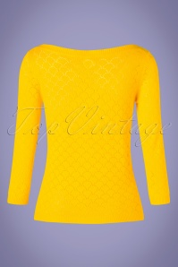 Mademoiselle Yeye 27068 Staying Up Yellow Top 20190219 005W