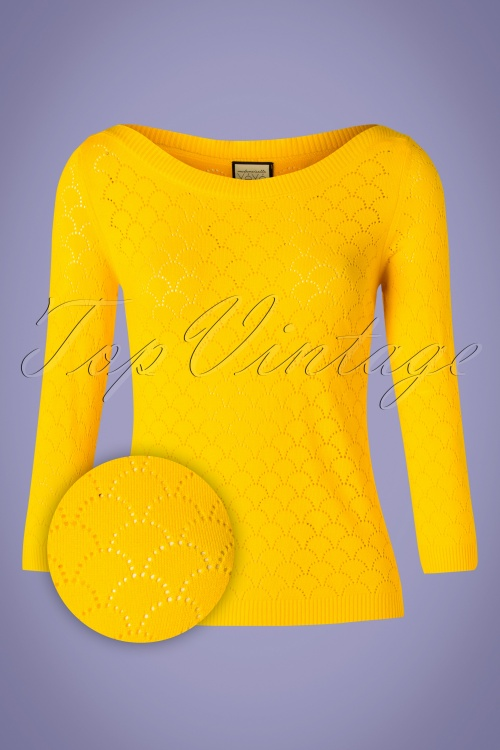 Mademoiselle Yeye 27068 Staying Up Yellow Top 20190219 004Z