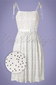 Banned 28804 Sweet Spot Dress in White 20181220 002V W