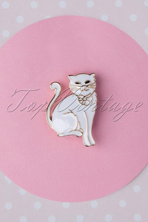 Collectif Clothing 27250 White Kitty 20190220 003 w
