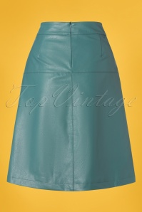 Le Pep 27331 Hydro Green Faux Leather Skirt 20190220 006W