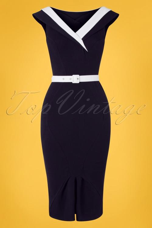 Miss Candyfloss 28683 Abigail Lee Wiggle Dress 20190220 002W
