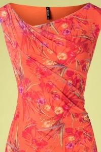 Smash! 27872 Peach Floral Dress 20190220 002V