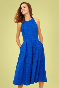Emily And Fin 27701 Alyssa Dress in Blue 20190221 01