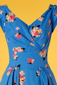 Emily And Fin 27702 Blue Floral Dress 20190221 002v