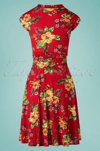 Retrolicious 29675 Bombshell Floral Dress 20190222 007W