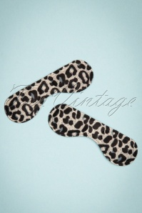 Foam Heel Shield in Leopard