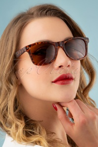 50s Hema Sunglasses in Leopard