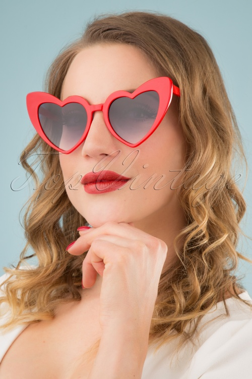 Collectif Clothing 27260 Love Is In The air Red 20190219 006W