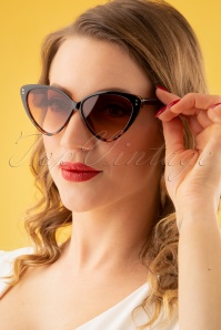 Collectif Clothing 27263 Amie Sunglasses Brown 20190219 028W