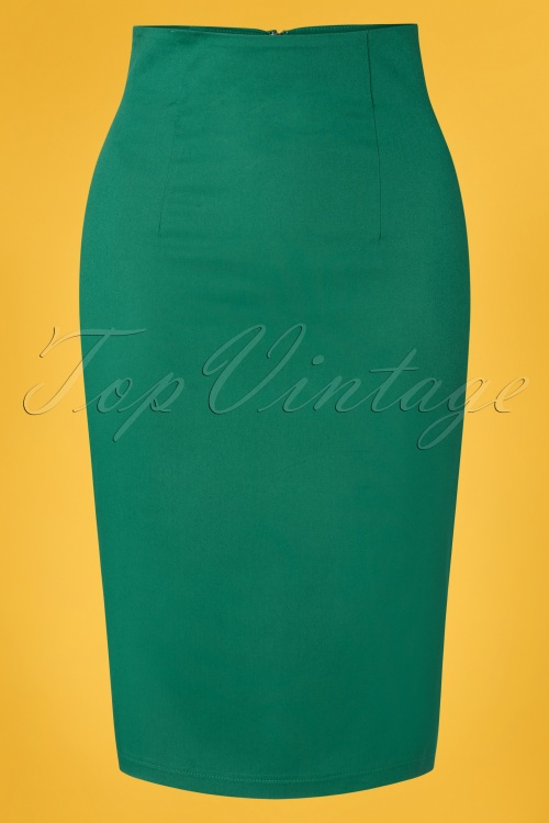 Dolly and Dotty 29159 50s Falda Green Pencil Dress 20190222 004W