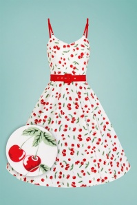 Bunny 28817 Sweetie 50's Cherry Swing Dress 4W1