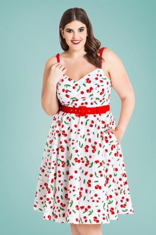Bunny 28817 Sweetie 50's Cherry Swing Dress 1