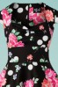 Bunny 28829 Carole's 50s Floral Swing Dress 20190225 002V