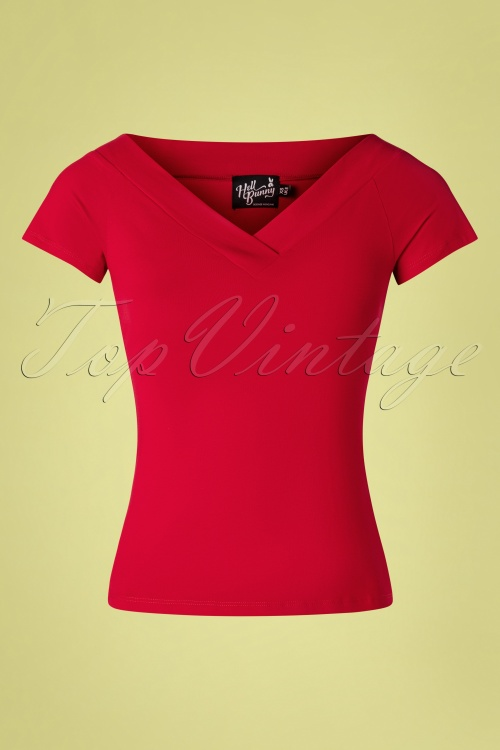 Bunny 28870 Alex Top in Red 20190225 001W