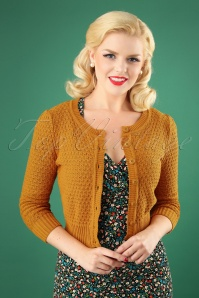 Mak Sweater 50s Jennie Bronze Cardigan 140 80 26691 20180806 0006W