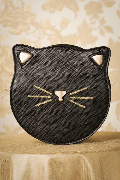 Vixen 27899 Bag Black Gold Kitten Cat 20181203 002