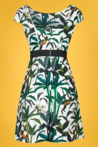 Smashed Lemon 27739 Tropical Monkey Dress 2W