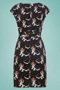Smashed Lemon 27736 Doggy Beagle Dress 2W