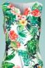 Smashed Lemon 27741 Tropical Parrot Pencil Dress 1V