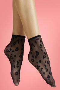 Fiorella 29324 Socks Polkadot Leopard Black 20190220 004