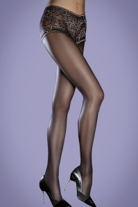 50s Ayla Tights in Black