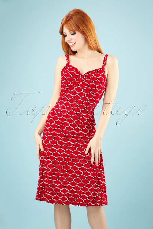 King Louie 27204 Chili Red Gisele Dress Scope 20181119 008W