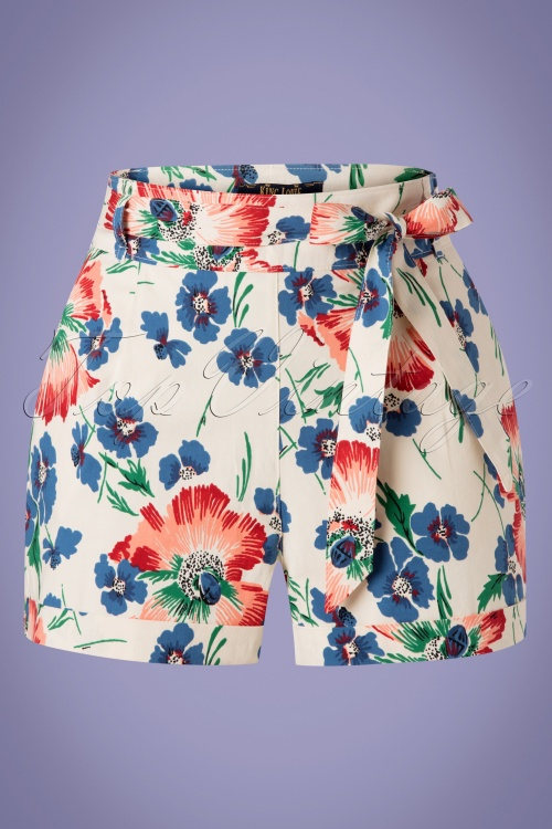 King Louie 27206 Roisin Floral Shorts 20190227 002W