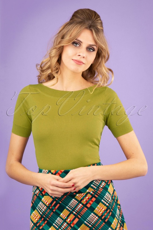 King Louie 27179 Cress Yellow Audrey Top Cottonclub 20181115 0100W