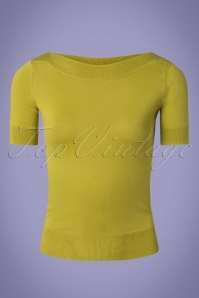 King Louie 27179 Cress Yellow Audrey Top Cottonclub 20181115 002W