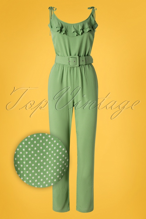 King Louie 27197 Viola Green Jumpsuit 20190227 005Z