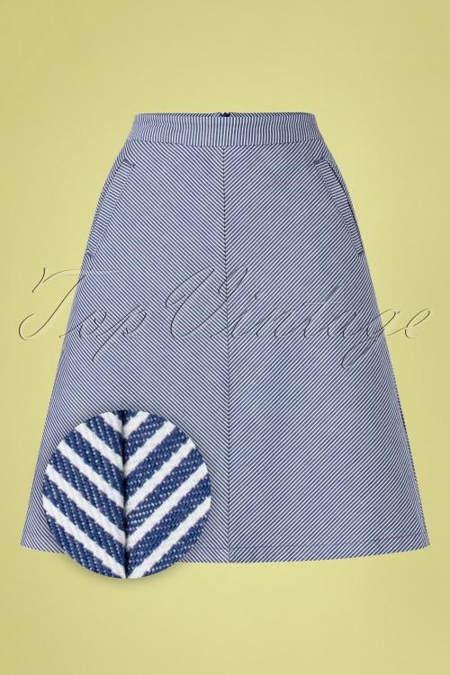King Louie 27180 Davis Striped Skirt 20190227 002Z