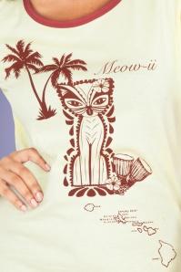 Vixen 28347 50s Meow Shirt Beige 20170704 0003