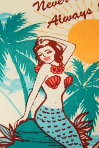 Vixen 28345 Mermaid Creme T Short 20190301 002
