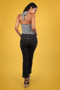 Vixen 28348 50s Naomi Denim Jeans 2