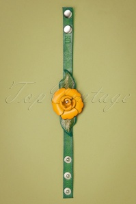 Urban Hippies 29679 Flower Armband Yellow 20190221 002 W