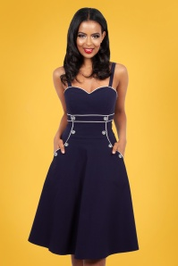 Vixen 28302 Blue Sailor Dress 2