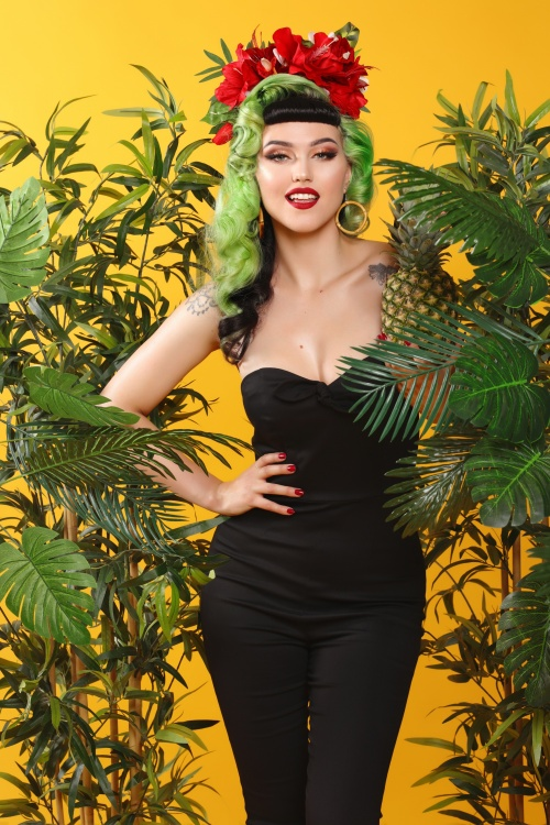 Collectif Clothing 27430 Anna Jumpsuit in Black 20180816 1