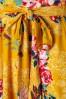 Vintage Chic 28775 Mustard Floral Dress 20190305 002
