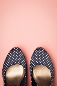 Tamaris 27822 Navy Dots pumps 20190222 009
