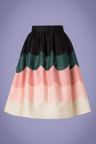 Vixen 28321 Sofia Scale Multicolored Swing Skirt 20190304 005W
