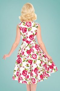 Hearts and Roses 28902 Roses Swing Dress 2