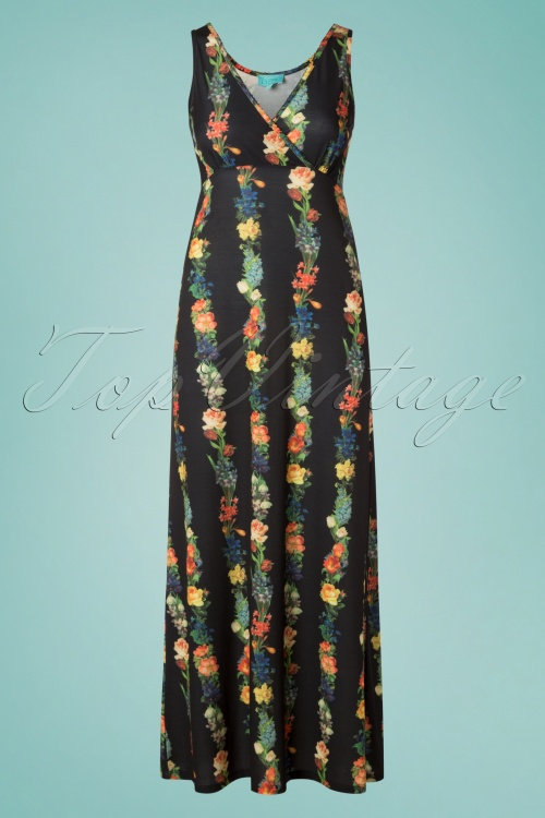 LaLamour 26830 Long Singlet Floral Maxi Dress 20190307 002W