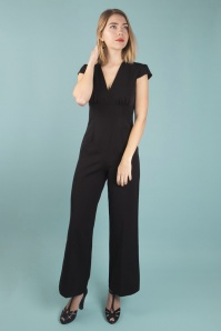 Very Cherry 26994 Black Venice Jumpsuit 20190307 020M