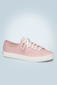 50s Kickstart Mini Chambray Sneakers in Pink