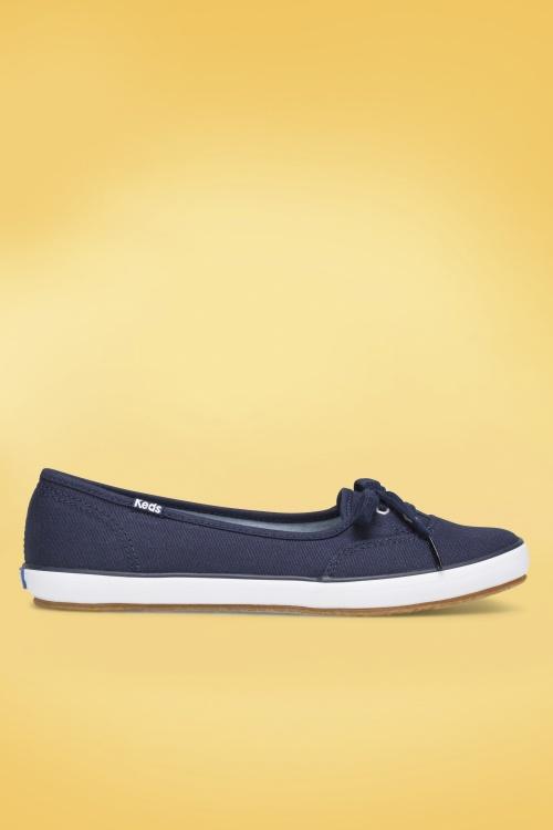 Keds 26827 Sneaker Navy Blue 50s Teacup 20180925 006