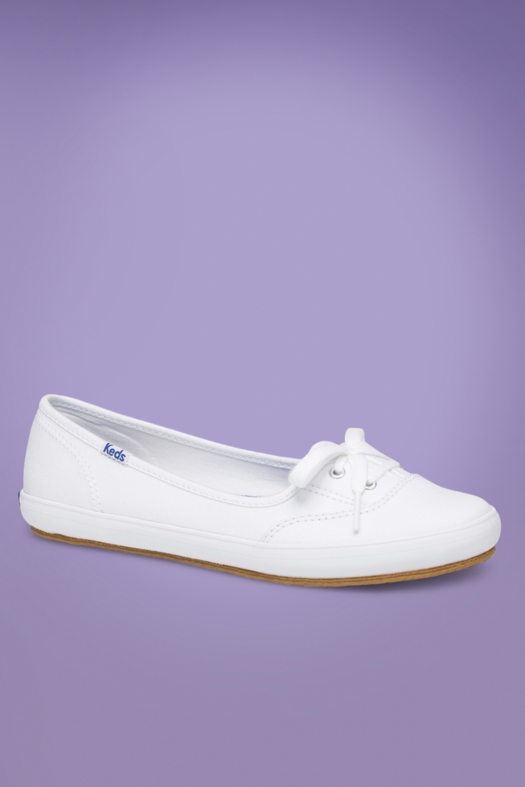 6dd4a52ae82 Teacup twill ballerina sneakers in white jpg 1020x1530 Canvas white teacup  keds