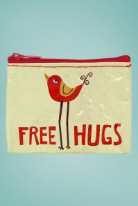 Blue Q 50s Free Hugs Coin Purse