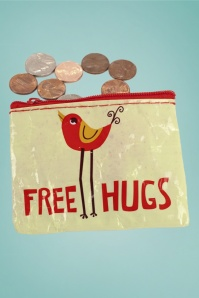 Cortina 30029 Coin Purse FreeHugs Red 20130205 004