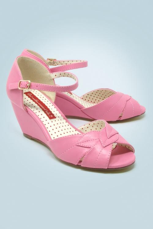 Bait Footwear 29555 Danita Rosette Roze Ballet 20170210 001